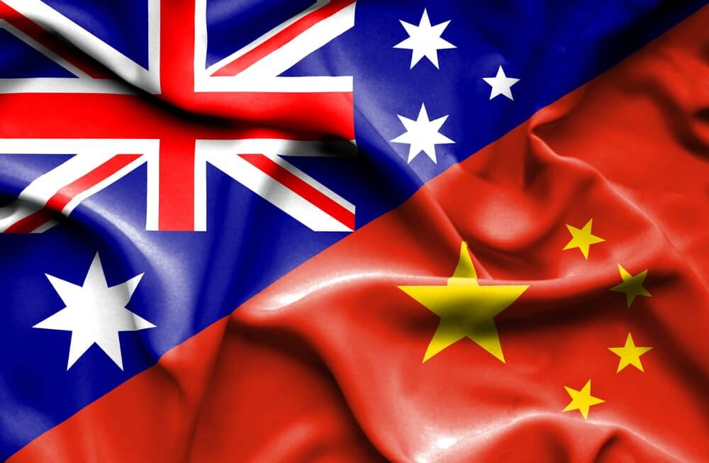 China dobs on Australia to World Trade Organisation