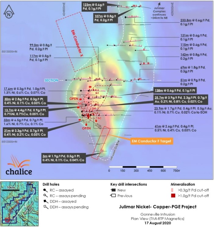 ASX CHN Julimar Gold Project Mineralisation 2